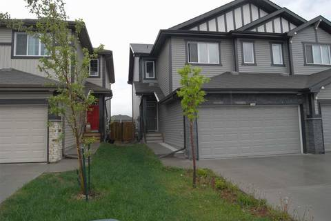 Townhouse for sale at 7269 Armour Cres Sw Edmonton Alberta - MLS: E4161622