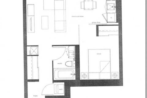 Apartment for rent at 12 Bonnycastle St Unit 727 Toronto Ontario - MLS: C4694964