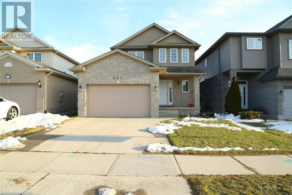 House for sale at 727 Blackacres Blvd London Ontario - MLS: 248429