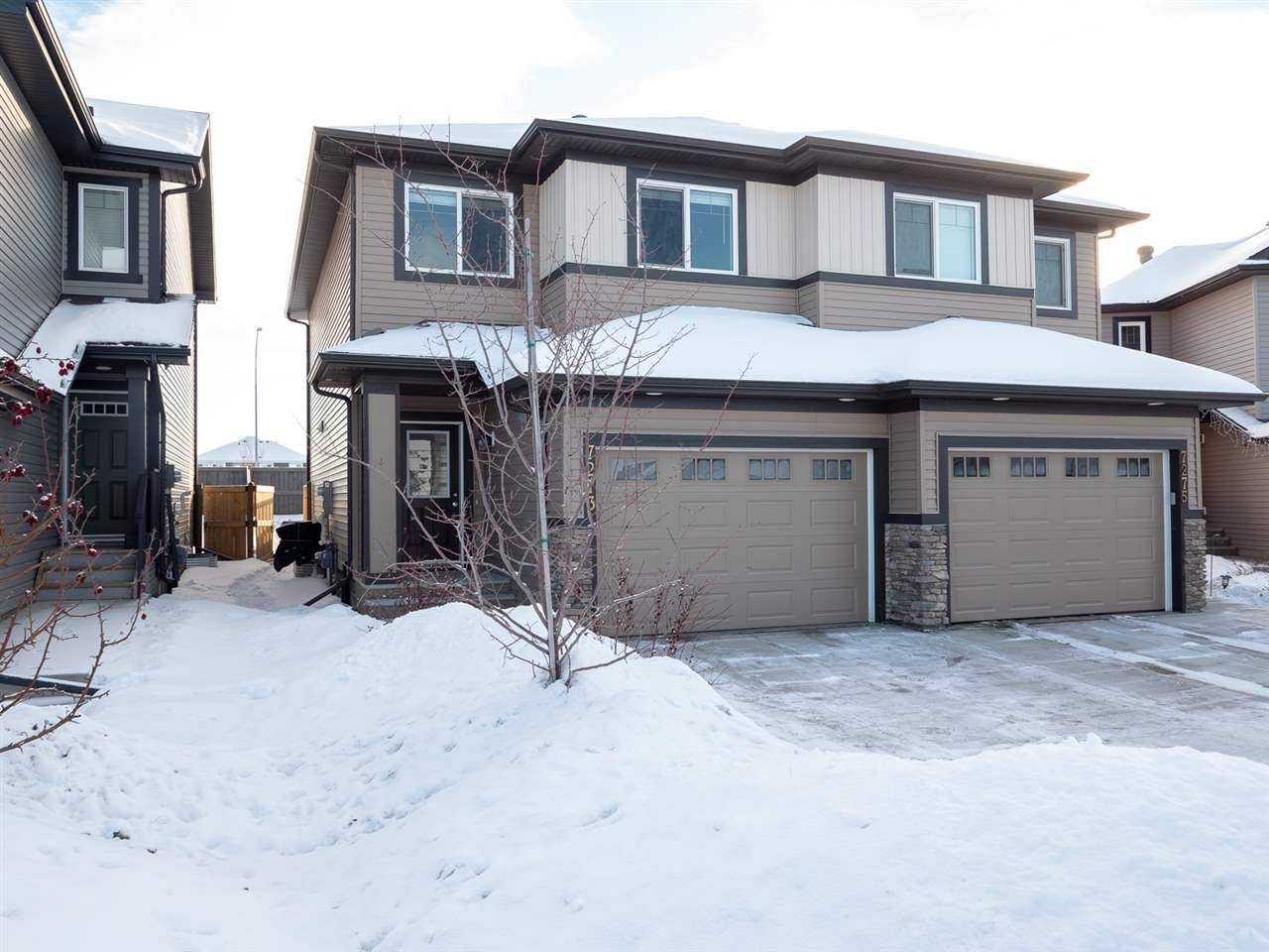 Townhouse for sale at 7273 Armour Cres Sw Edmonton Alberta - MLS: E4186450
