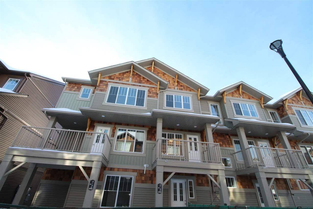 Townhouse for sale at 1005 Graydon Hill Blvd Sw Unit 73 Edmonton Alberta - MLS: E4188194