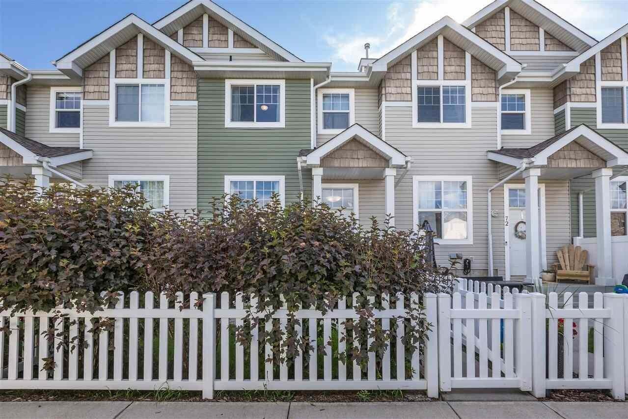 Townhouse for sale at 5604 199 St NW Unit 73 Edmonton Alberta - MLS: E4206680