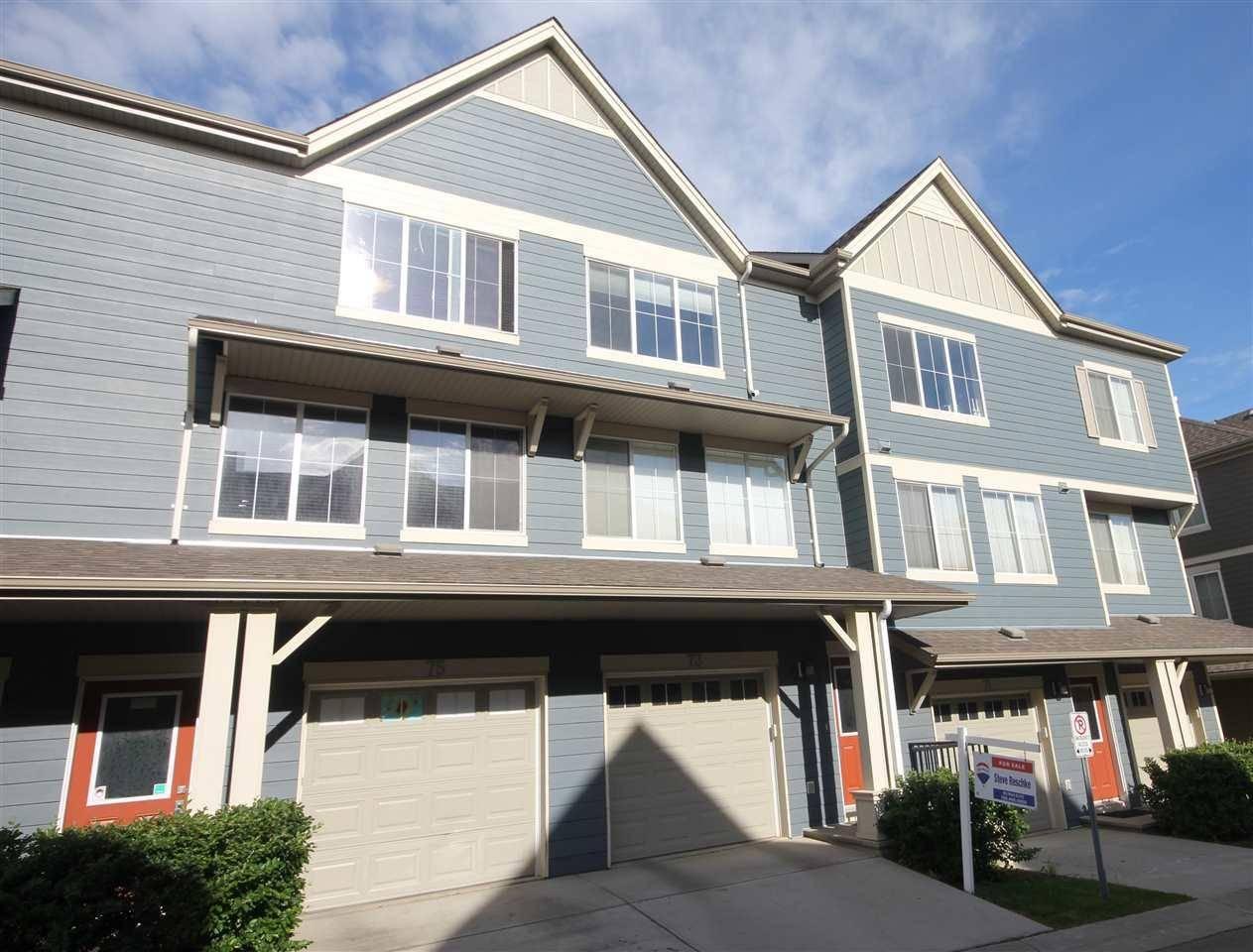 Townhouse for sale at 603 Watt Blvd Sw Unit 73 Edmonton Alberta - MLS: E4159843