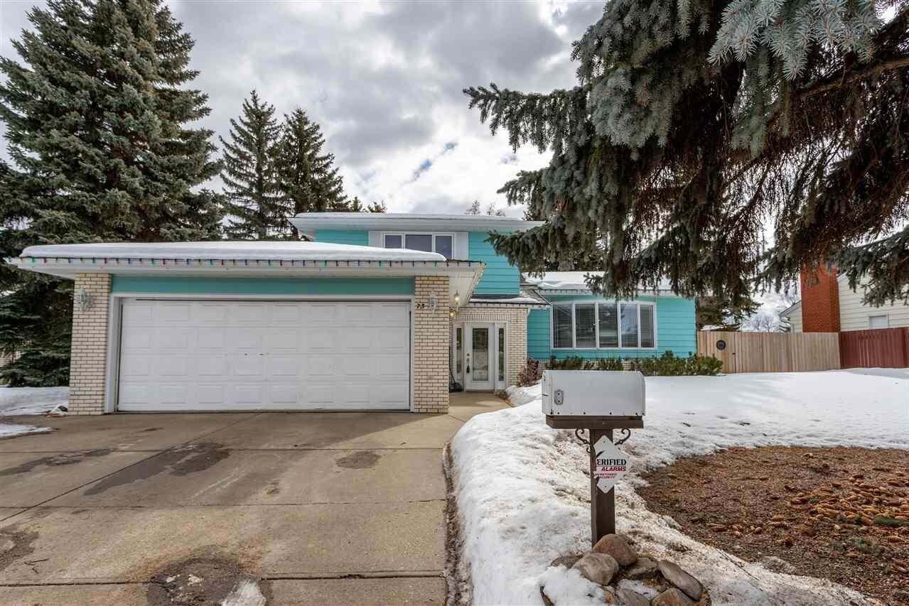 House for sale at 73 Brander Dr NW Edmonton Alberta - MLS: E4189996