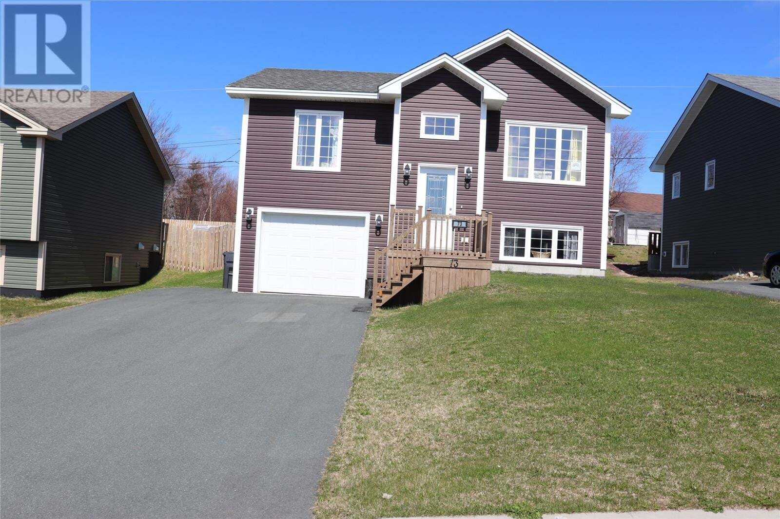House for sale at 73 Cole Thomas Dr Conception Bay South Newfoundland - MLS: 1213847