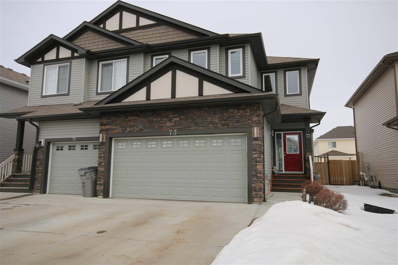 Townhouse for sale at 73 Creek Wd South Stony Plain Alberta - MLS: E4192369