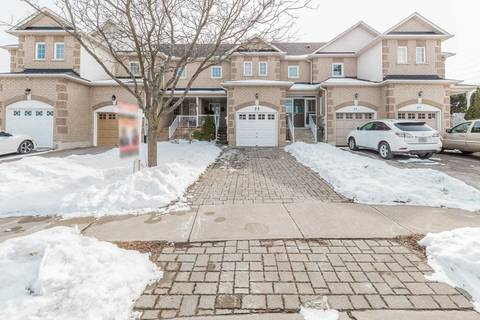 Townhouse for sale at 73 Culture Cres Brampton Ontario - MLS: W4697721