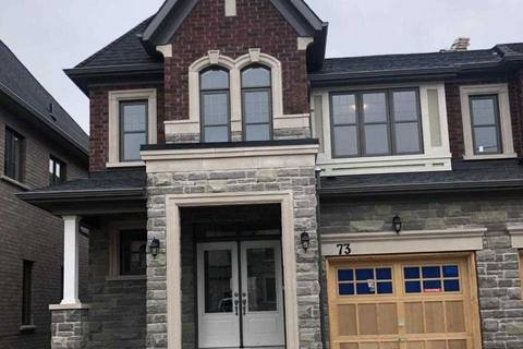 Townhouse for rent at 73 Dolobram Trail Tr Brampton Ontario - MLS: W4735046