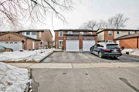 Townhouse for sale at 73 Empringham Cres Markham Ontario - MLS: N4729646