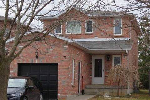 House for sale at 73 Ferguson Dr Barrie Ontario - MLS: S4419341