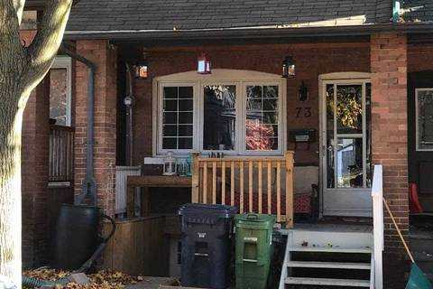 Townhouse for rent at 73 Gainsborough Rd Toronto Ontario - MLS: E4640171