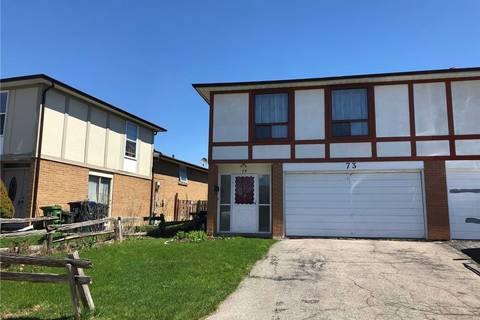 Townhouse for sale at 73 Glen Springs Dr Toronto Ontario - MLS: E4431648