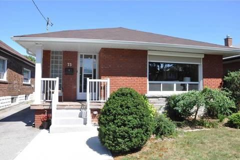 House for rent at 73 Gort Ave Toronto Ontario - MLS: W4624392