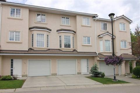 Townhouse for sale at 73 Hamptons Li Northwest Calgary Alberta - MLS: C4291207