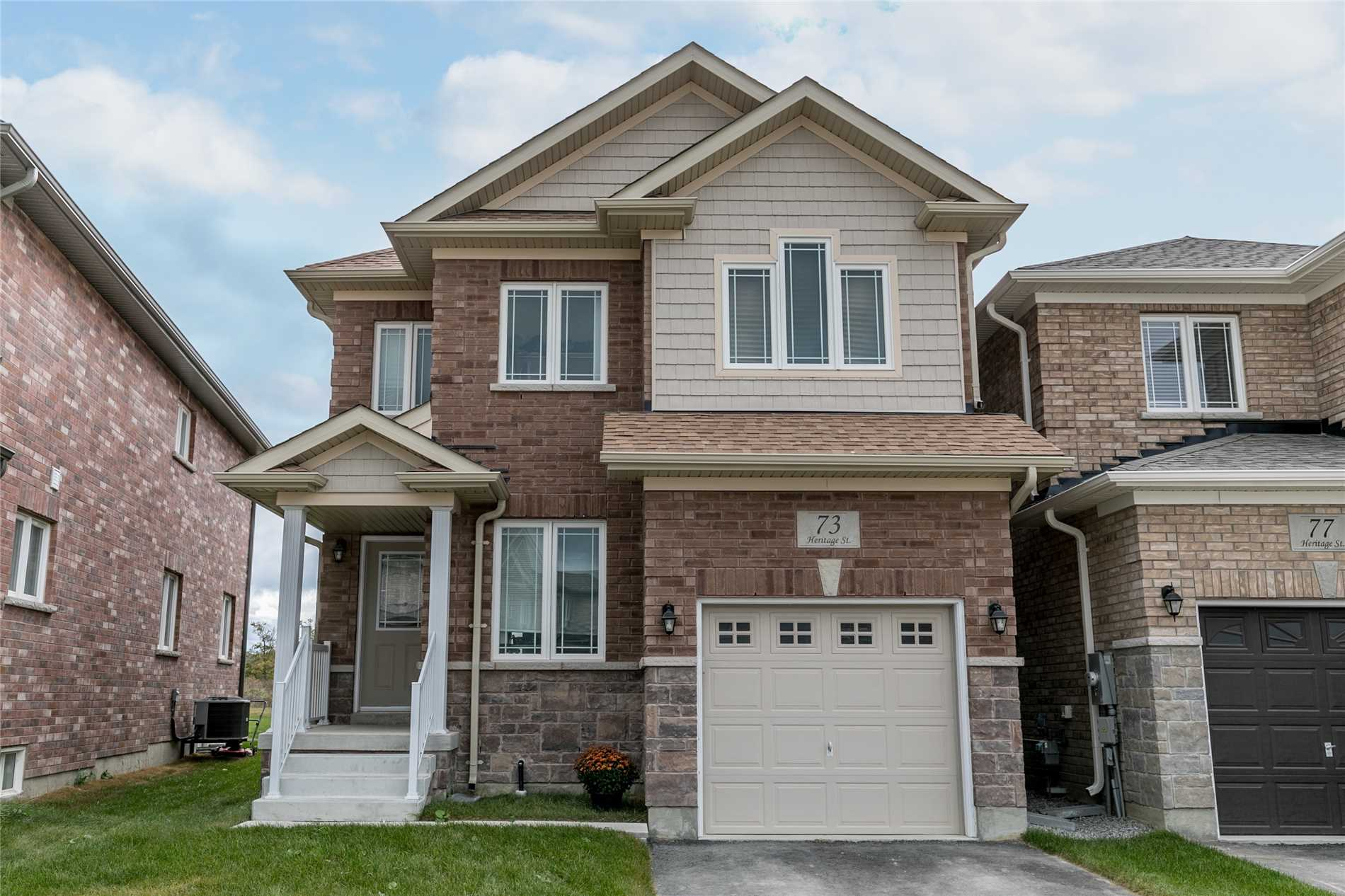 House for sale at 73 Heritage Street Bradford West Gwillimbury Ontario - MLS: N4320861