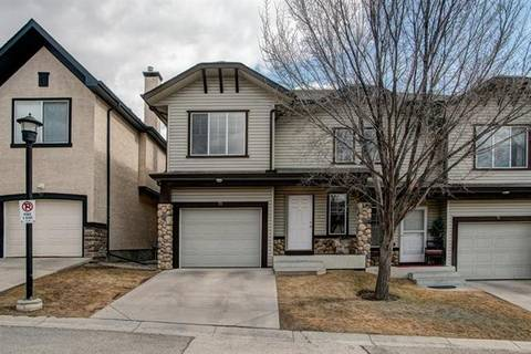 Townhouse for sale at 73 Hidden Creek Ri Northwest Calgary Alberta - MLS: C4236280