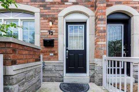 Townhouse for sale at 73 Joseph Griffith Ln Toronto Ontario - MLS: W4578369