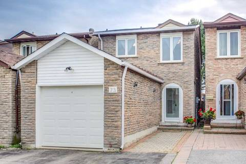 House for sale at 73 Mccabe Cres Vaughan Ontario - MLS: N4504226