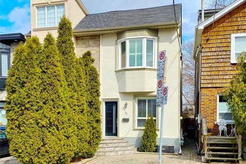 Townhouse for sale at 73 Muriel Ave Toronto Ontario - MLS: E4737607