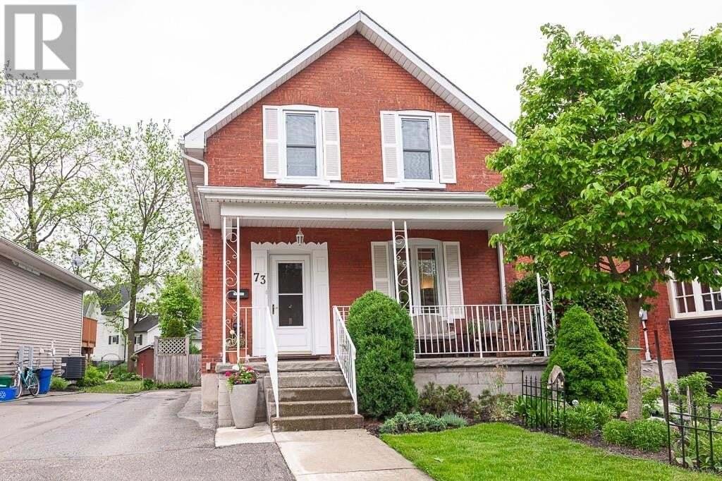 House for sale at 73 Railway Ave Stratford Ontario - MLS: 30810115