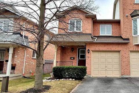 Townhouse for sale at 73 Rougehaven Wy Markham Ontario - MLS: N4737870