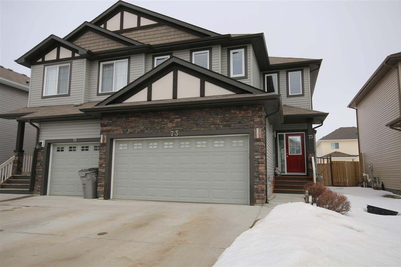 Townhouse for sale at 73 South Creek Wd Stony Plain Alberta - MLS: E4192369