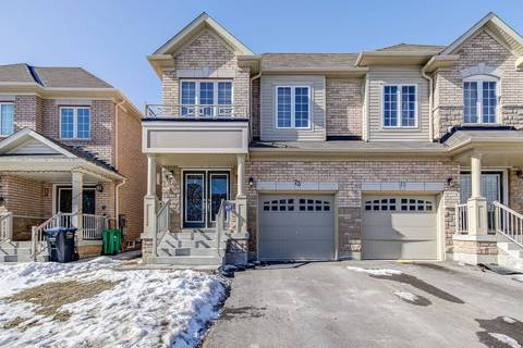 Townhouse for sale at 73 Yardley Cres Brampton Ontario - MLS: W4699228