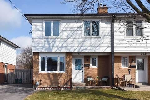Townhouse for sale at 730 Kenora Ave Oshawa Ontario - MLS: E4731925
