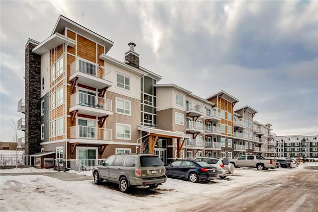 For Sale: 7312 - 302 Skyview Ranch Drive Northeast, Calgary, AB | 2 Bed, 1 Bath Condo for $199,000. See 22 photos!