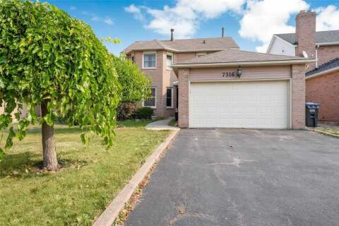 House for sale at 7316 Corrine Cres Mississauga Ontario - MLS: W4925737