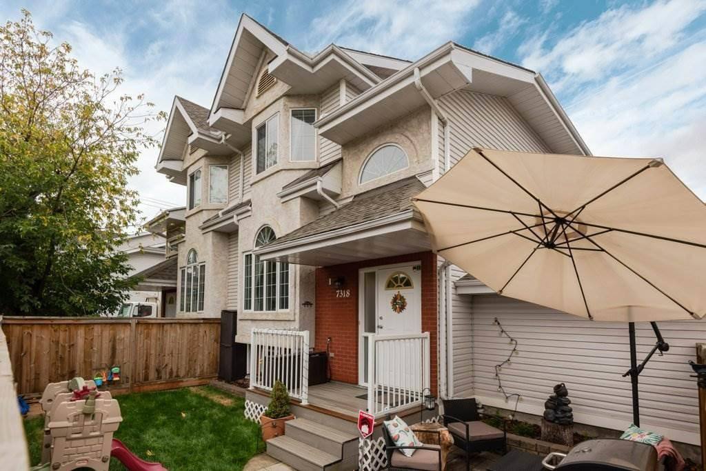 Townhouse for sale at 7318 109 St Nw Edmonton Alberta - MLS: E4173448
