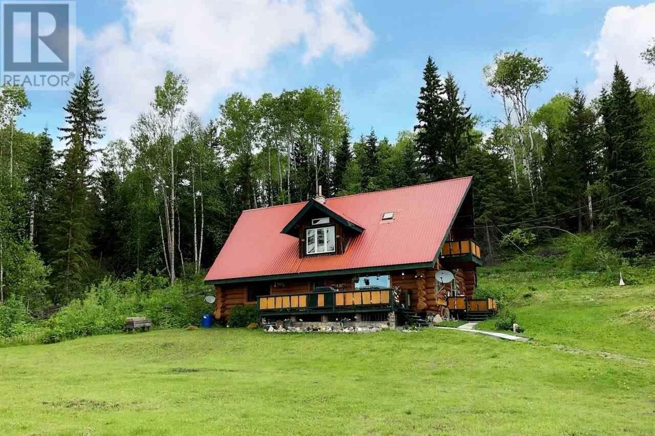 House for sale at 7321 Black Creek Rd Horsefly British Columbia - MLS: R2468742