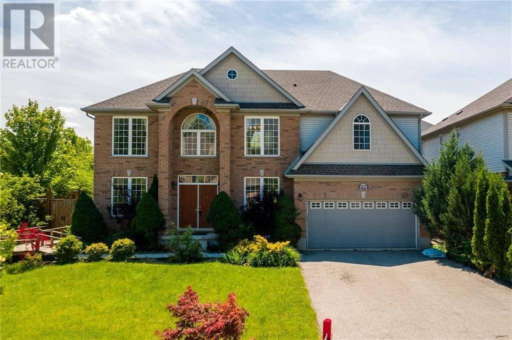 House for sale at 733 Cedar Bend Dr Waterloo Ontario - MLS: 30758998