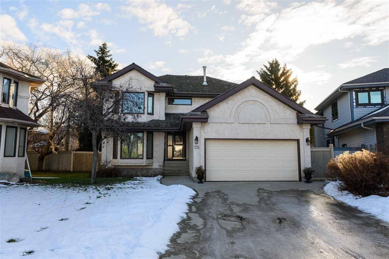 House for sale at 735 Wheeler Rd Nw Edmonton Alberta - MLS: E4180457