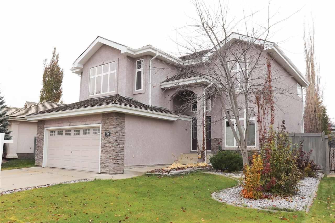 House for sale at 736 Dalhousie Wy Nw Edmonton Alberta - MLS: E4176795