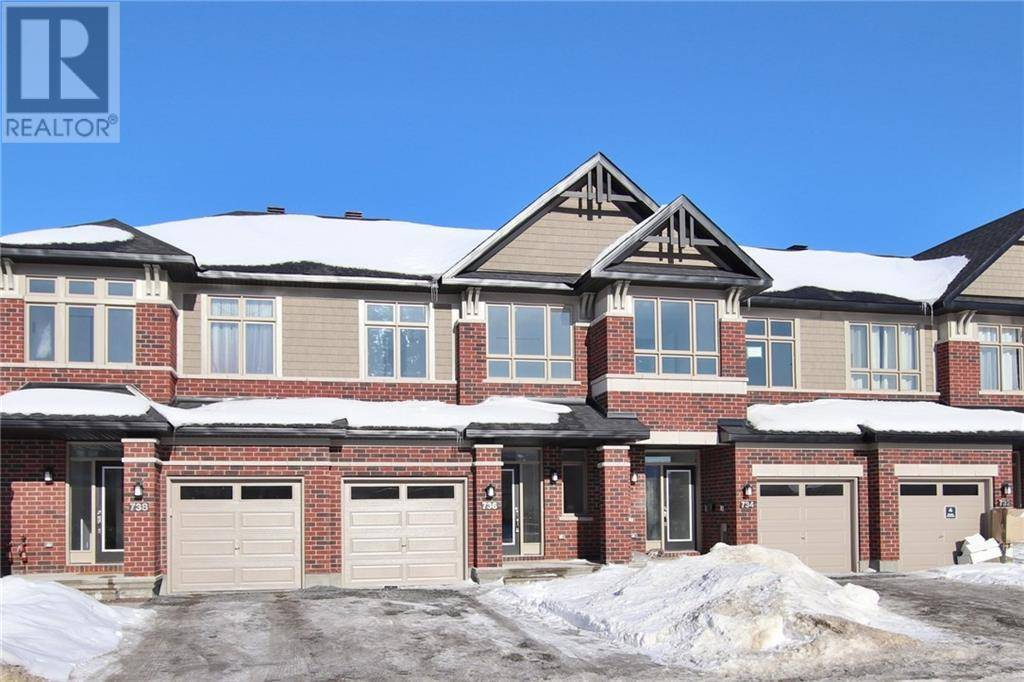 Townhouse for rent at 736 Twist Wy Ottawa Ontario - MLS: 1182922