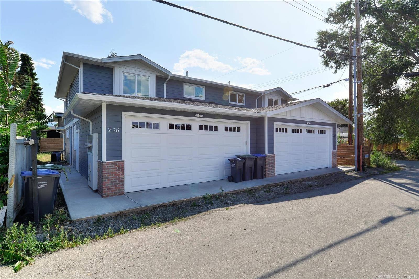 Townhouse for sale at 736 Wardlaw Ave Kelowna British Columbia - MLS: 10190235