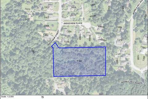 Residential property for sale at 7360 Ridgeview St Chilliwack British Columbia - MLS: R2436268