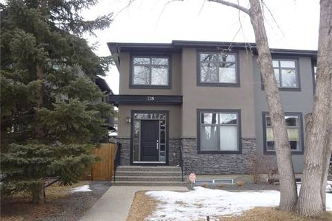 Townhouse for sale at 738 21 Ave Northwest Calgary Alberta - MLS: C4283461