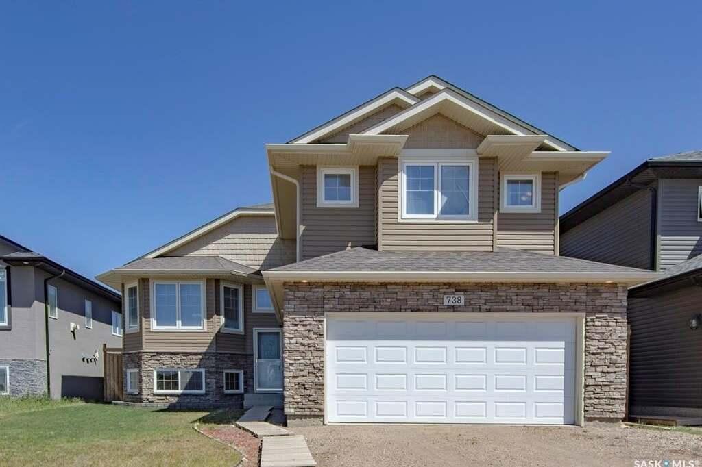 House for sale at 738 Evergreen Blvd Saskatoon Saskatchewan - MLS: SK811690