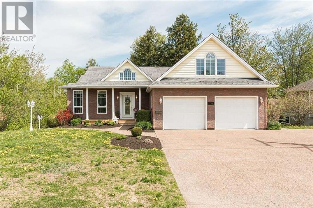 House for sale at 739 Frampton Ln Moncton New Brunswick - MLS: M128730
