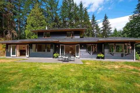 House for sale at 739 Minnows Ln Bowen Island British Columbia - MLS: R2491796