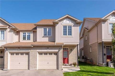 Townhouse for sale at 105 Pinnacle Dr Unit 74 Kitchener Ontario - MLS: 40025465