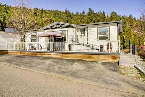 Residential property for sale at 1525 Westside Rd Unit 74 Kelowna British Columbia - MLS: 10180264