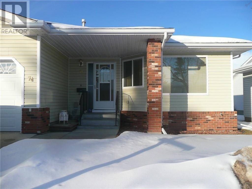 Townhouse for sale at 2816 Botterill Cres Unit 74 Red Deer Alberta - MLS: ca0186877