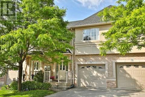 Townhouse for sale at 5080 Fairview St Unit 74 Burlington Ontario - MLS: 30744758