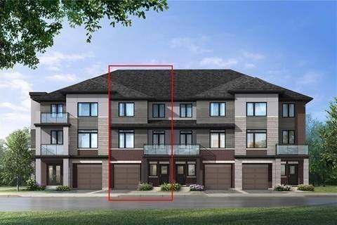 Townhouse for sale at 595 North Service Rd Unit 74 Hamilton Ontario - MLS: X4714755