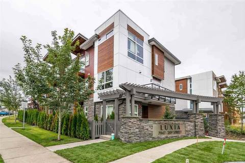 Townhouse for sale at 7947 209 St Unit 74 Langley British Columbia - MLS: R2436185
