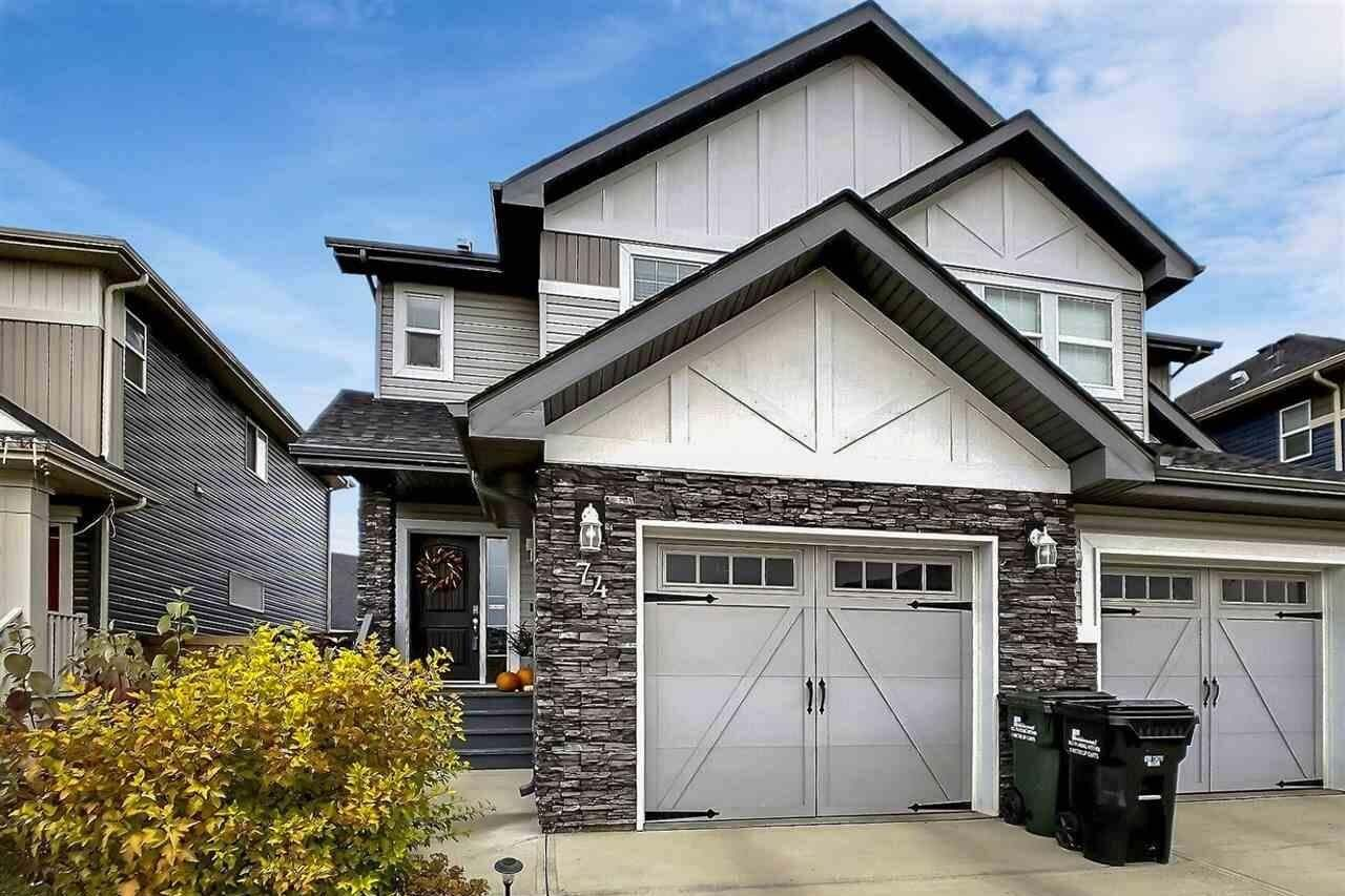 Townhouse for sale at 74 Abbey Rd Sherwood Park Alberta - MLS: E4217642