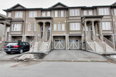 Townhouse for sale at 74 Bloom Cres Hamilton Ontario - MLS: X4386577